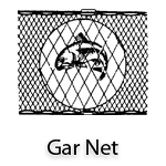 Heavy Duty Gar Gill Nets