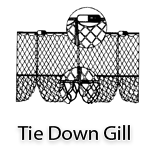 Tie-Down Gill Nets